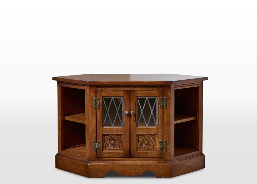 Old Charm Furniture Collection Old Charm Corner TV Cabinet