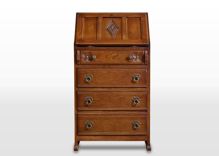 Old Charm Ladies Bureau Wood Bros