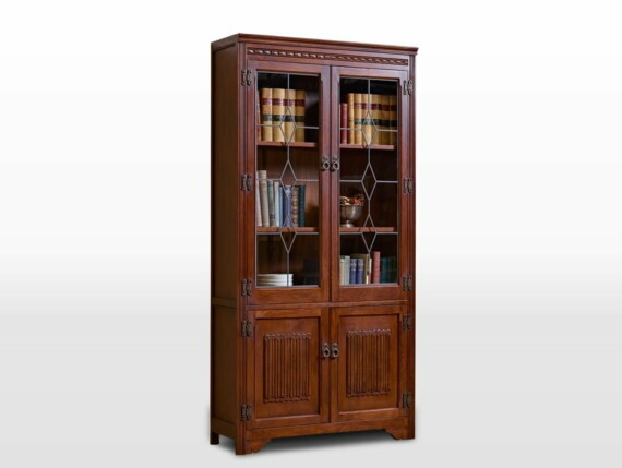 British Design Old Charm Bookcase