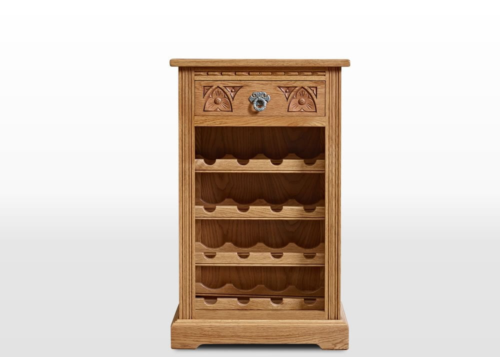Old Charm Wine Rack Wood Bros