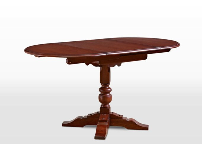 Old Charm Dining Table in Chestnut Traditional Angled Image