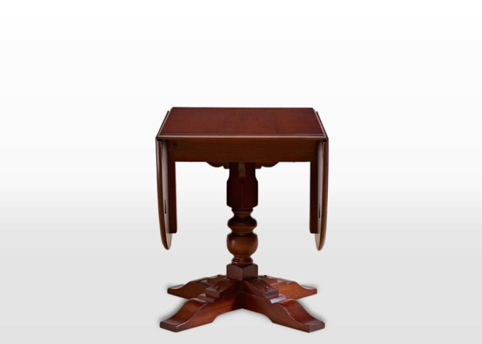 Old Charm Dining Table in Chestnut Traditional Image