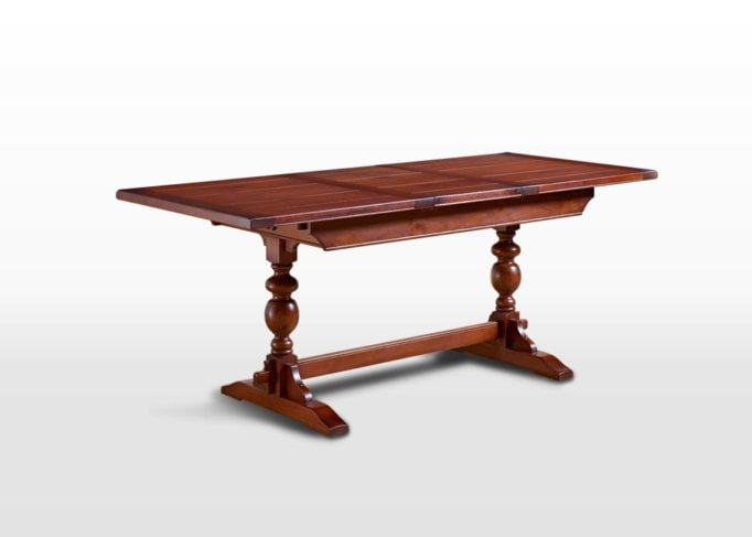 Old Charm 5ft Lambourn Table in Chestnut Traditional Image
