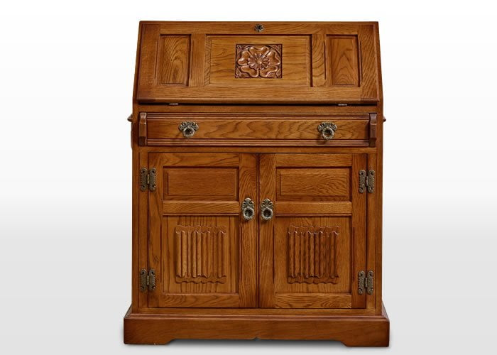 old charm rose bureau wood bros. Black Bedroom Furniture Sets. Home Design Ideas