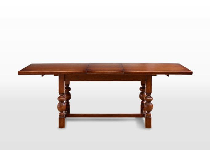 Old Charm Buckingham Dining Table in Chestnut Traditional Image