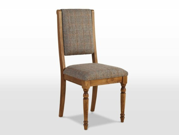 Rochford dining chair, harris tweed dining chair, tweed dining chair, harris tweed upholstery