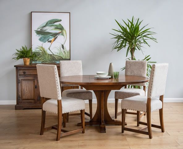 lichfield dining collection, oak dining