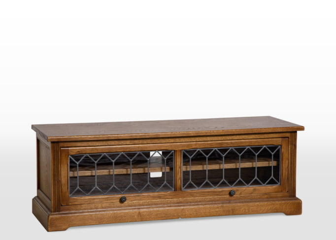 Wood Bros TV Cabinet in Vintage Classic head on image