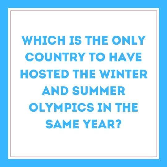 Karen Quiz Olympics