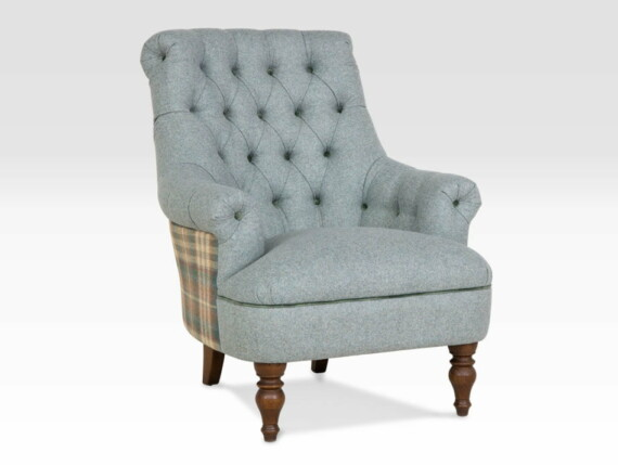 pickering designer armchair, teal designers chair