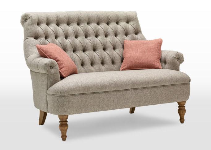 Pickering sofa, pickering 2 seater sofa, small wool sofa