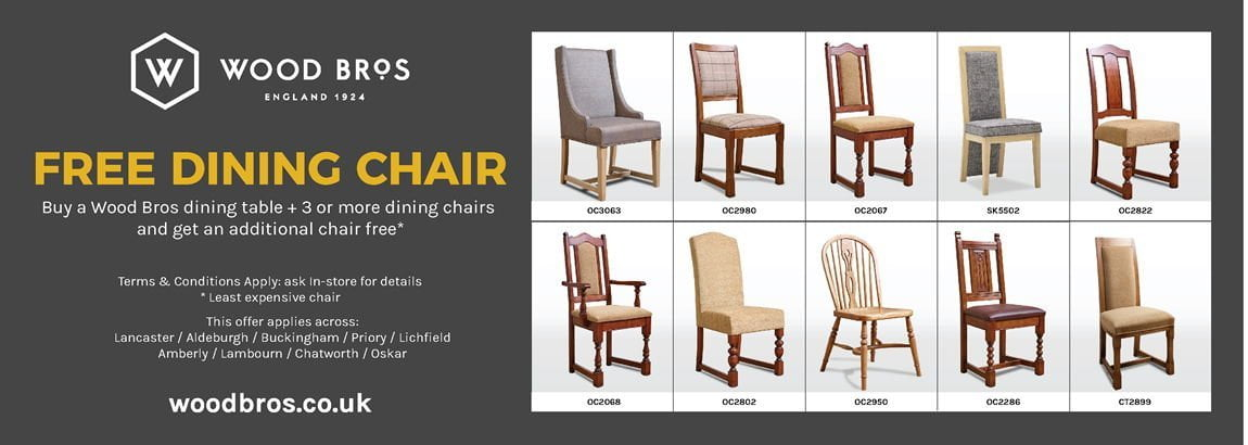 Free dining chair with every dining set