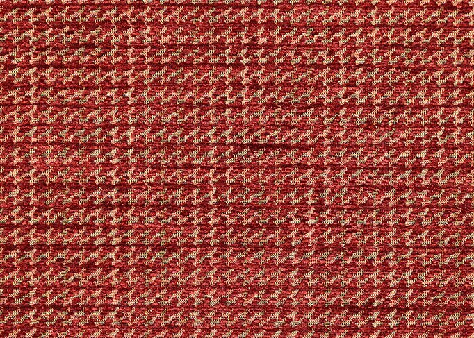 Rust Dogtooth fabric