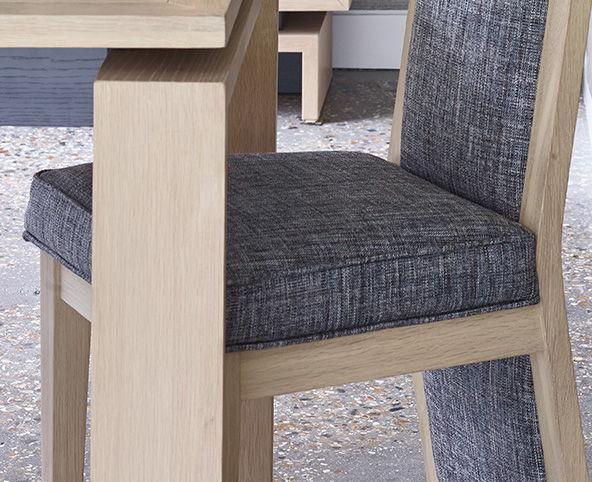 Oskar upholstered dining chair craftsmanship
