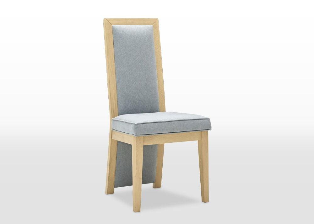 oskar upholstered dining chair angled camden seafoam