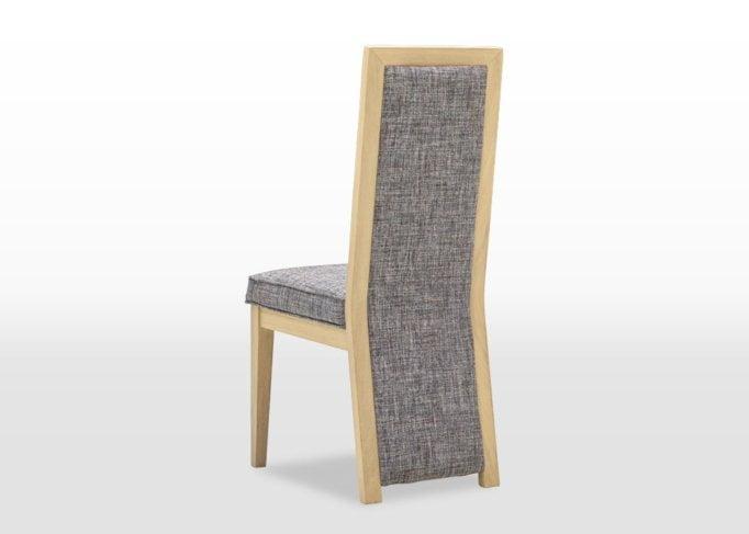 oskar upholstered dining chair back finsbury steel