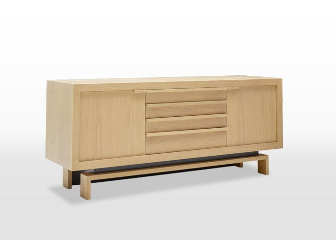 oskar large sideboard angled
