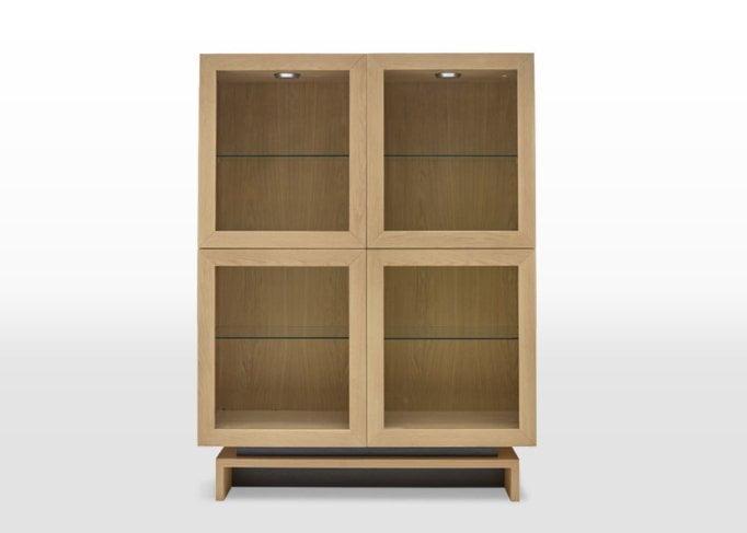 oskar display cabinet front