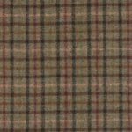 small check sage fabric - bronte by moon
