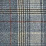 Tartan Mint Moon Furnishing pure wool fabric