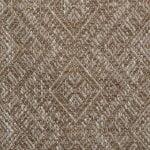 taupe geometric fabric, taupe sofa