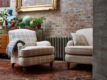 Malham Sofa Collection and Bronte by Moon throw