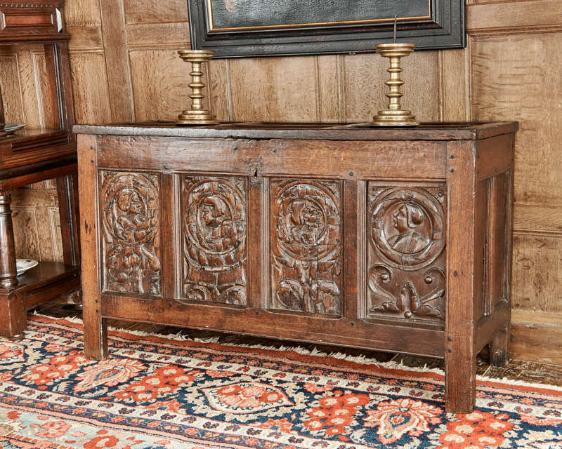 Tudor Carved Chest