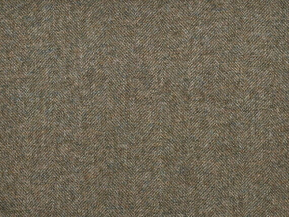 Tweed Kelp Moon Furnishing pure wool fabric