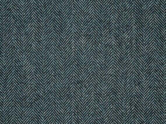 herringbone navy indigo, herringbone navy wool, herringbone blue fabric