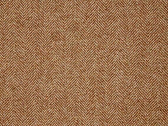 Herringbone Terracotta Blush, herringbone terracotta wool, herringbone terracotta fabric