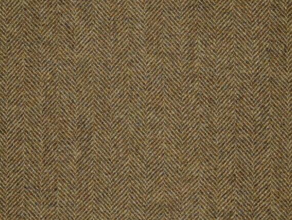 herringbone gorse bronze, herringbone gorse wool, herringbone gorse fabric
