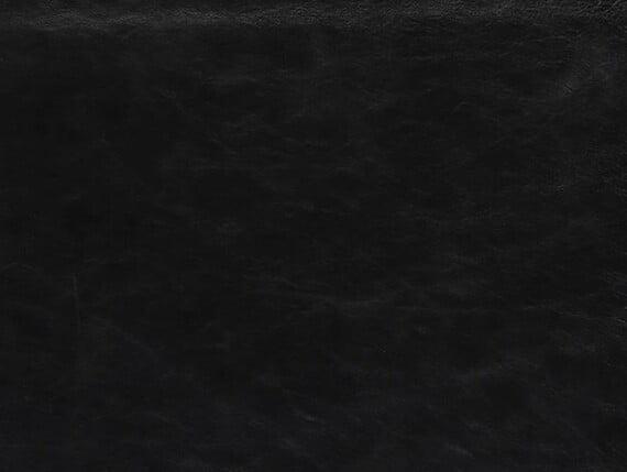 Veneto Black Hide, black leather, black hide