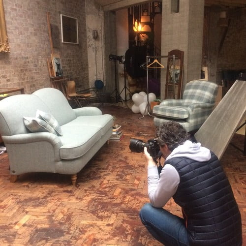 Photo Shoot location Accent Chairs Compact Sofas