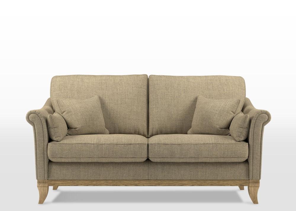 Weybourne medium sofa, finchley natural