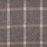 Winepane Taupe Moon Furnishing pure wool fabric
