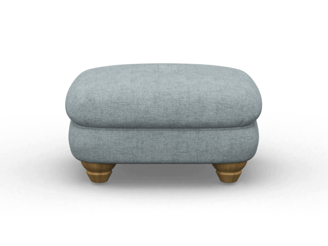 Accent Footstool Arctic