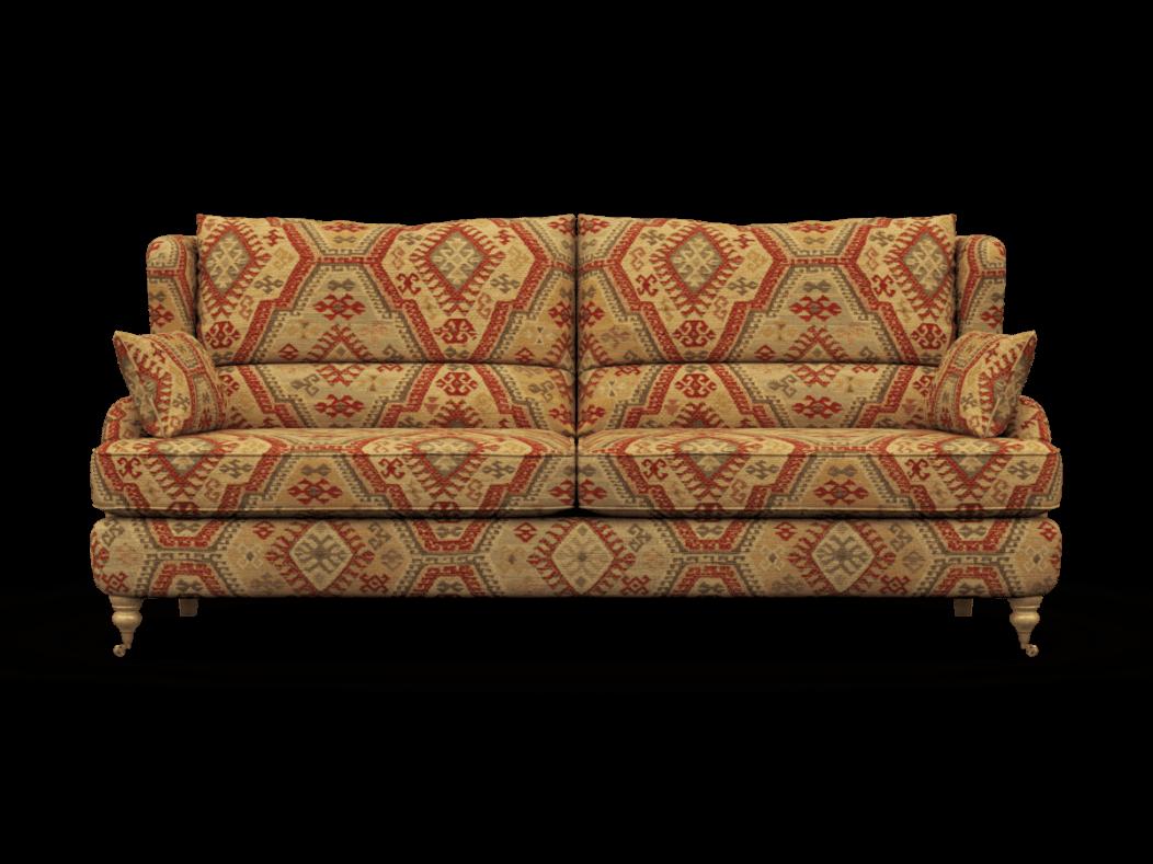 Bayford 3 Seater Aztec Rust