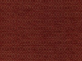 Benjamina Diamond Ruby fabric, red upholstery fabric