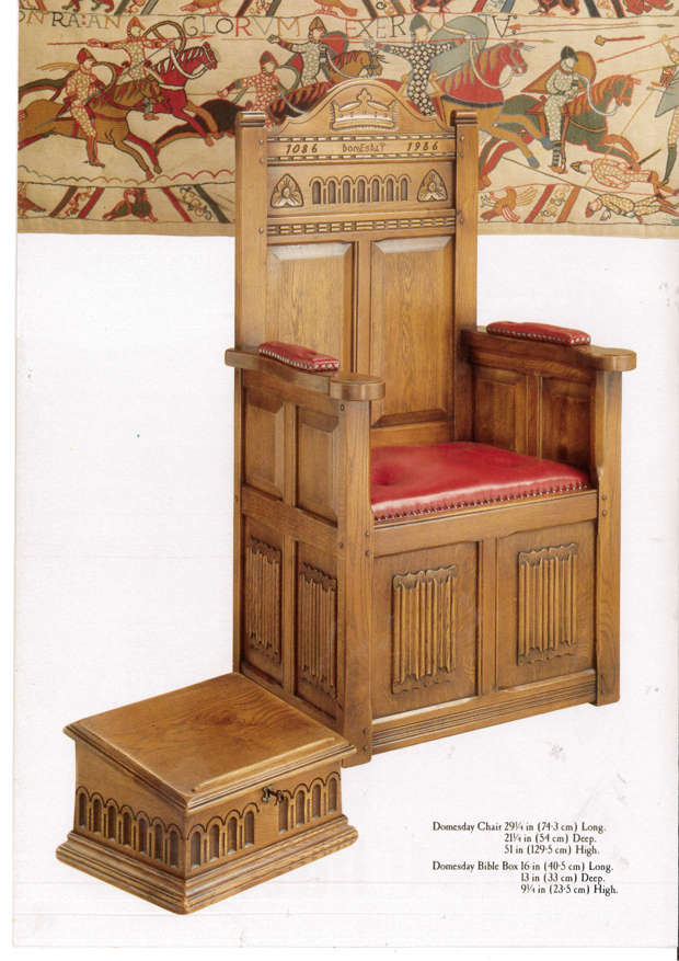 Tudor Furniture - Old Charm Domesday Chair