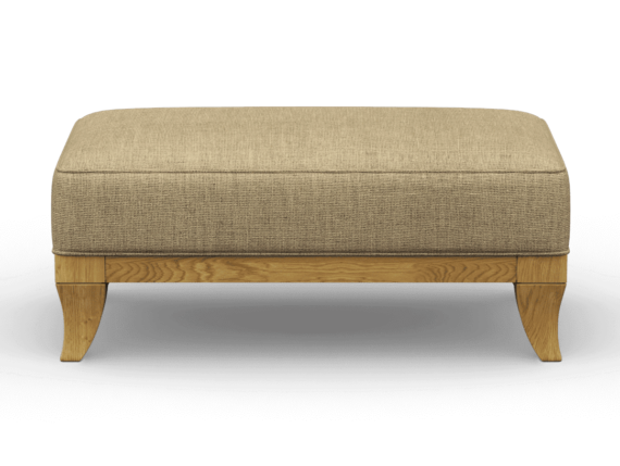 weybourne footstool in Finchley Natural
