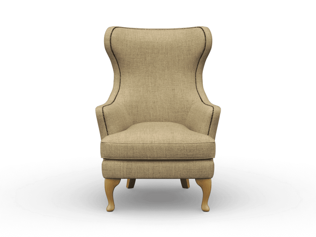 stand alone chair, stand alone armchair, finchley natural, designer armchair