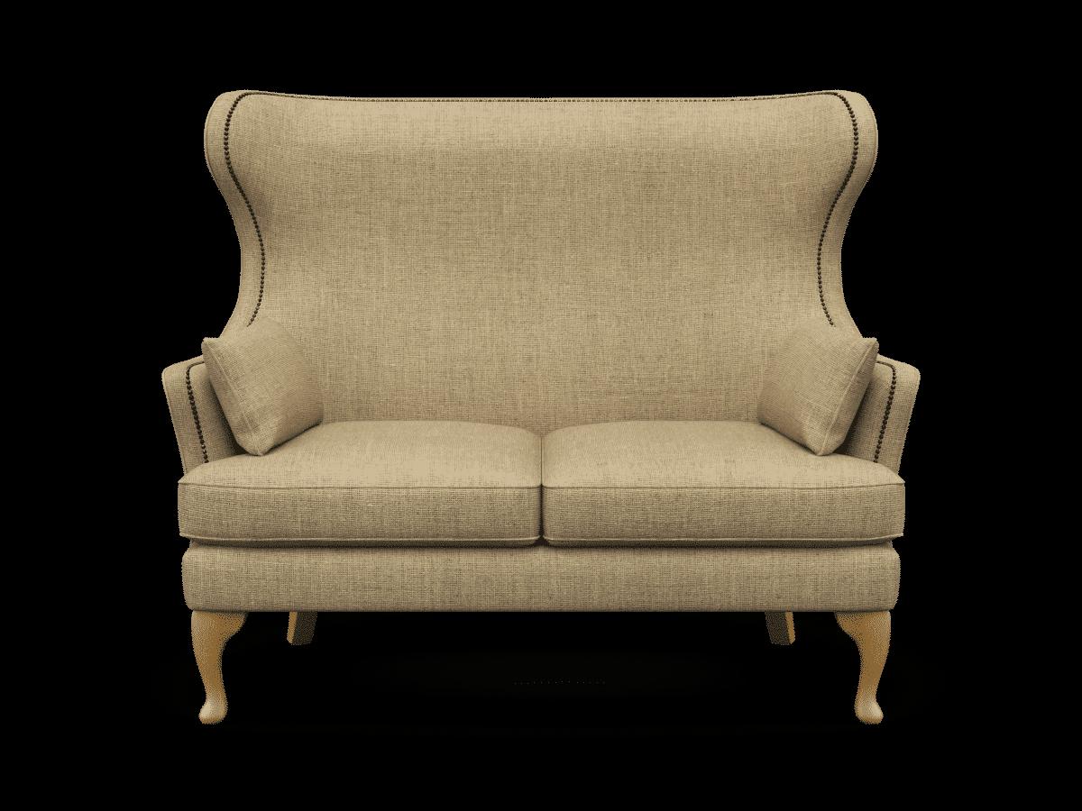 Hardwick compact sofa, finchley natural, designer compact sofa