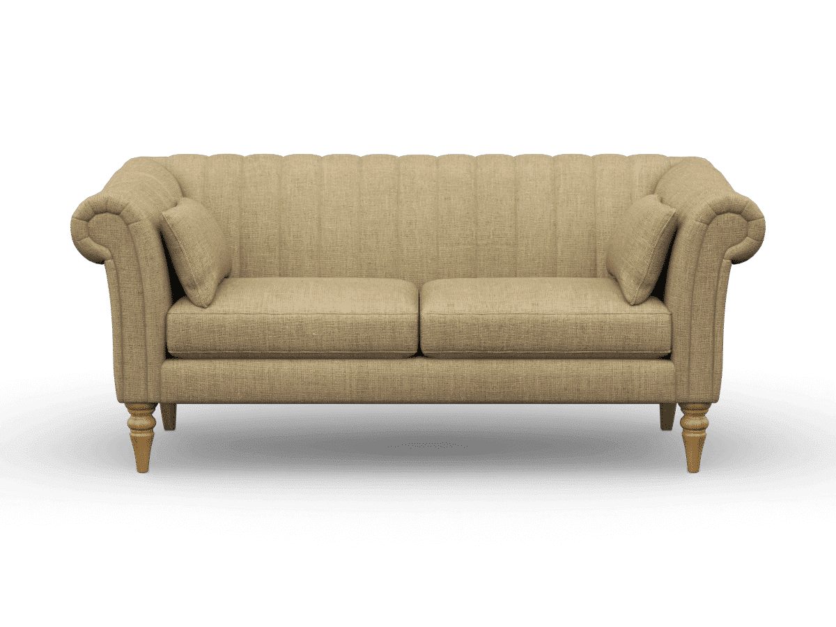 channel back sofa, Rushden medium sofa in finchley natural
