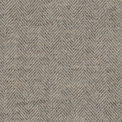 Herringbone Cloud fabric, grey upholstery fabric