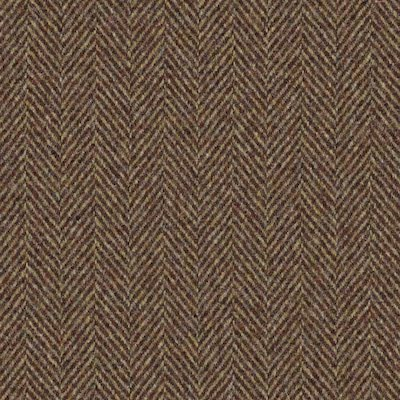 Herringbone Copper fabric, brown upholstery fabric, herringbone fabric