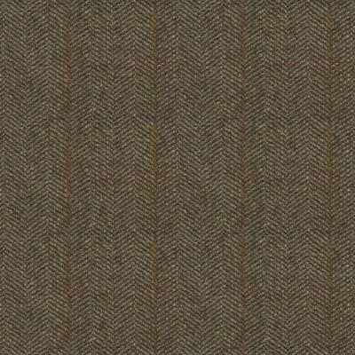 Herringbone Fern wool, countryside wool upholstery, earth wool upholstery fabrics