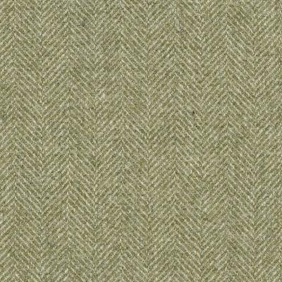 Herringbone Leaf fabric, green upholstery fabric, herringbone fabric