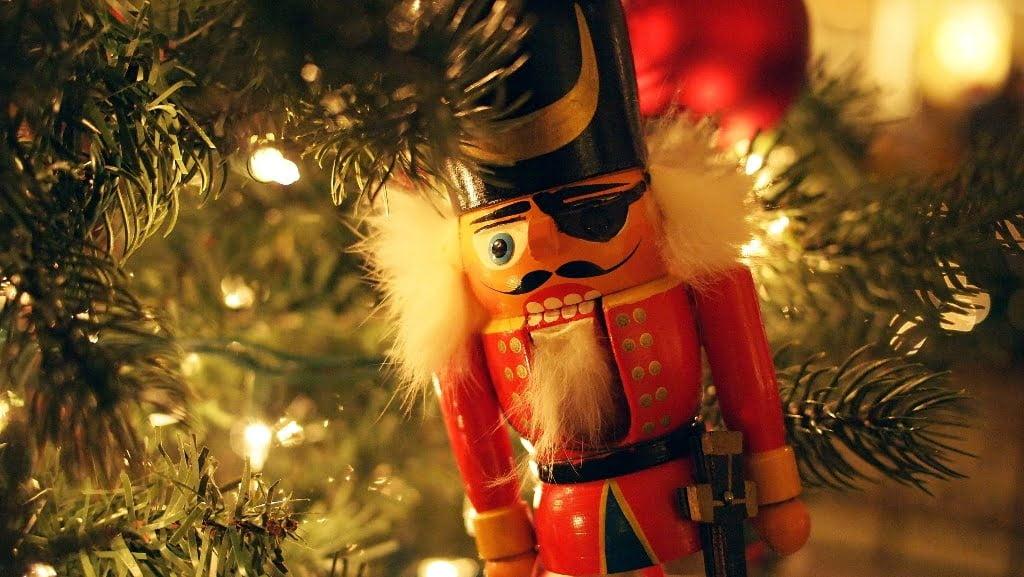 Christmas Nutcracker on Tree