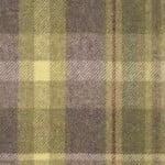 Tartan Violet wool, pattern wool upholstery fabric, tartan wool upholstery, green and purple upholstery fabric