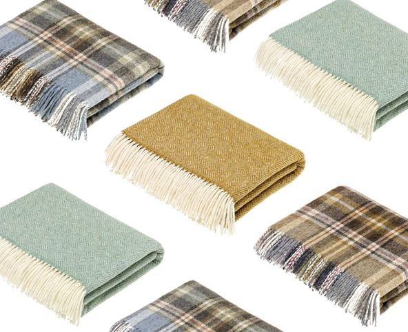 wool throws, wool blankets, good value wool throws